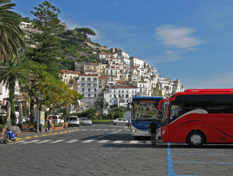 Transportation to Amalfi Italy